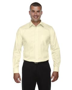 Transprnt Yellow Men's Crown Woven Collection™ Solid Stretch Twill