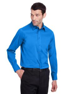 French Blue Men's Crown Collection™ Stretch Broadcloth Slim Fit Shirt