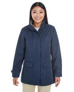 Navy Ladies' Hartford All-Season Hip-Length Club Jacket