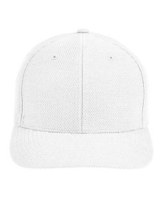 White CrownLux Performance™ by Flexfit Adult Cap