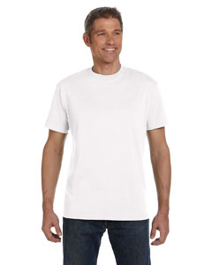 White 5.5 oz., 100% Organic Cotton Classic Short-Sleeve T-Shirt