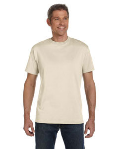 Natural 5.5 oz., 100% Organic Cotton Classic Short-Sleeve T-Shirt