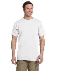 White 4.4 oz. Ringspun Fashion T-Shirt