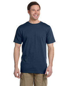 Navy 4.4 oz. Ringspun Fashion T-Shirt