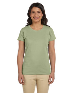 Wasabi Women's 4.4 oz., 100% Organic Cotton Short-Sleeve T-Shirt