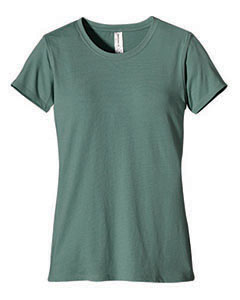 Blue Sage Women's 4.4 oz., 100% Organic Cotton Short-Sleeve T-Shirt