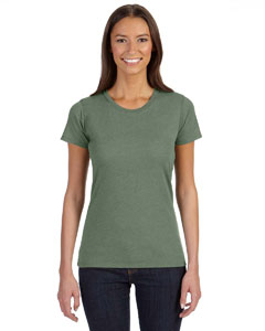 Asparagus Ladies' 4.25 oz. Blended Eco T-Shirt