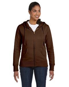 Earth Ladies' 9 oz. Organic/Recycled Full-Zip Hood