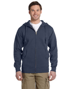 Pacific Men's 9 oz. Organic/Recycled Full-Zip Hood