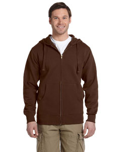 Earth Men's 9 oz. Organic/Recycled Full-Zip Hood