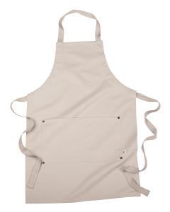 Oyster 8 oz. Organic Cotton/Recycled Polyester Eco Apron