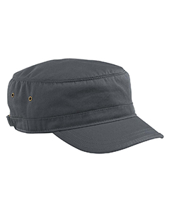 Charcoal Organic Cotton Twill Corps Hat