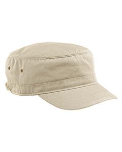 Oyster Organic Cotton Twill Corps Hat
