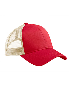 Red/oyster Eco Trucker Organic/Recycled