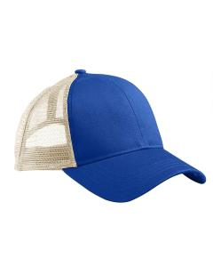 Royal/ White Eco Trucker Organic/Recycled