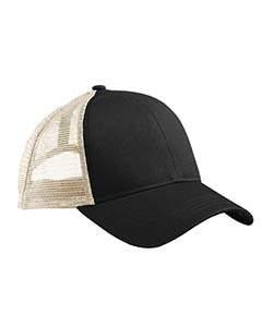Black/ White Eco Trucker Organic/Recycled