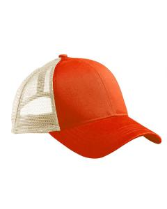 Orng Poppy/ Oyst Eco Trucker Organic/Recycled