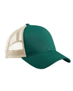 Green/ White Eco Trucker Organic/Recycled