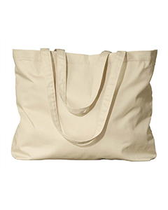 Oyster Organic Cotton Large Twill Tote