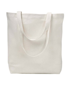 Natural 7 oz. Recycled Cotton Everyday Tote