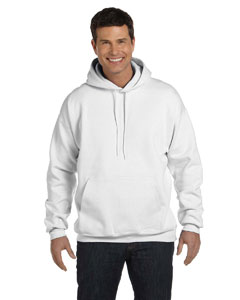 White 9.7 oz. Ultimate Cotton® 90/10 Pullover Hood