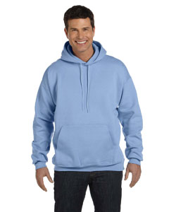 Light Blue 9.7 oz. Ultimate Cotton® 90/10 Pullover Hood
