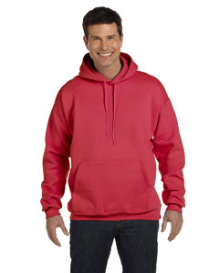 Deep Red Adult 9.7 oz. Ultimate Cotton® 90/10 Pullover Hood