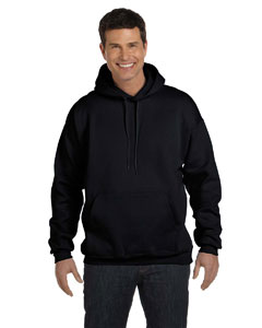 Black 9.7 oz. Ultimate Cotton® 90/10 Pullover Hood