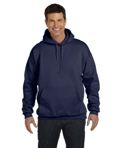 Navy 9.7 oz. Ultimate Cotton® 90/10 Pullover Hood