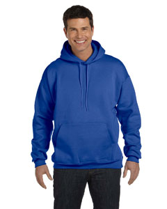 Deep Royal 9.7 oz. Ultimate Cotton® 90/10 Pullover Hood