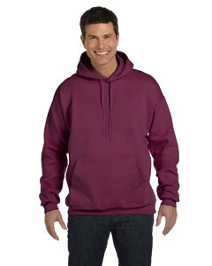 Maroon 9.7 oz. Ultimate Cotton® 90/10 Pullover Hood