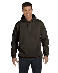 Dark Chocolate Adult 9.7 oz. Ultimate Cotton® 90/10 Pullover Hood