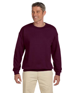 Maroon 9.7 oz. Ultimate Cotton® 90/10 Fleece Crew