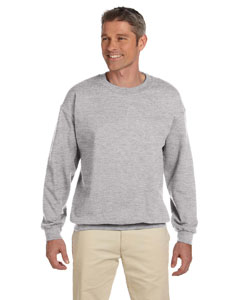 Light Steel 9.7 oz. Ultimate Cotton® 90/10 Fleece Crew
