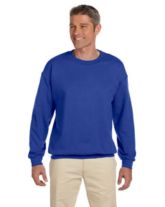 Deep Royal 9.7 oz. Ultimate Cotton® 90/10 Fleece Crew