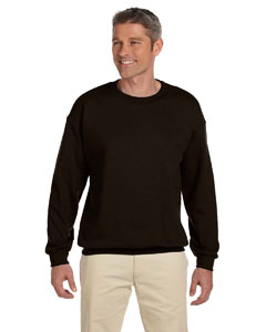 Dark Chocolate 9.7 oz. Ultimate Cotton® 90/10 Fleece Crew