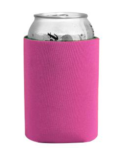 Hot Pink Insulated Can Holder