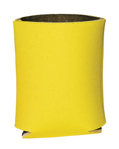 Yellow Insulated Can Holder