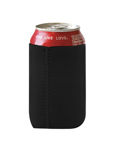 Black Neoprene Can Holder
