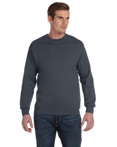 Charcoal DryBlend™ 9.3 oz., 50/50 Fleece Crew