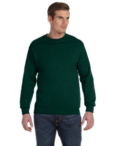 Forest Green DryBlend™ 9.3 oz., 50/50 Fleece Crew