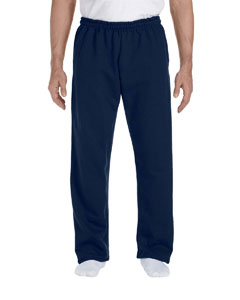 Navy DryBlend™ 9.3 oz., 50/50 Open-Bottom Sweatpants