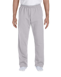 Sport Grey DryBlend™ 9.3 oz., 50/50 Open-Bottom Sweatpants
