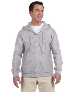 Sport Grey DryBlend™ 9.3 oz., 50/50 Full-Zip Hood