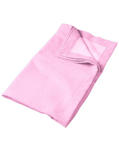 Light Pink DryBlend® 9 oz. Fleece Stadium Blanket