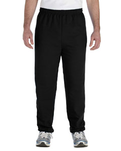 Black Adult Heavy Blend™ 8 oz. 50/50 Sweatpants
