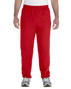 Red Adult Heavy Blend™ 8 oz. 50/50 Sweatpants