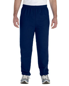 Navy Adult Heavy Blend™ 8 oz. 50/50 Sweatpants