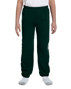 Forest Green Heavy Blend™ Youth 8 oz., 50/50 Sweatpants