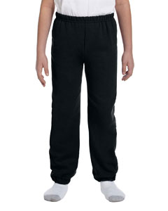 Black Heavy Blend™ Youth 8 oz., 50/50 Sweatpants